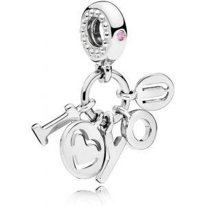 Pandora Charm 796596FPC - Charm I Love You Femme