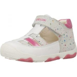 Geox B New Balu' Girl A, Baskets Basses Bébé Fille Blanc