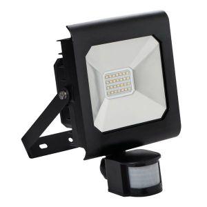 Kanlux Projecteur LED 20 watt IP44 avec détecteur de mouvement - Finition - Noire