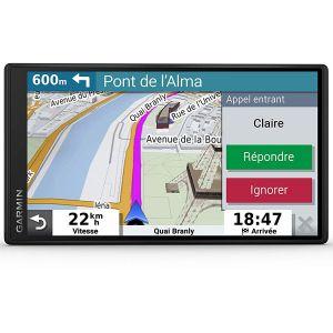 Garmin DriveSmart 55 - GPS Auto – 5,5 pouces - Cartes Europe 46 pays – Cartes, Trafic et Zones de Danger gratuits - Grand écran lumineux - cartographie 3D - Appels mains libres