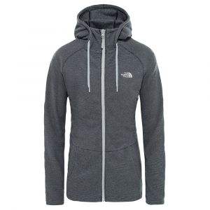 The North Face Sweatshirts Mezzaluna Full Zip Hoodie - TNF Black Stripe - Taille S