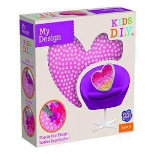 Orb factory My Design Coussin à décorer Coeur Kids D.I.Y