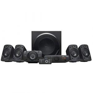 Logitech Enceintes stéréo 3D Z906 avec son Dolby Surround 51, THX, 1000W Idéales pour le salon