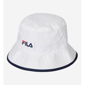 FILA Bob nylon patch signature Blanc