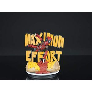 Quantum Mechanix Mini-figurines - Marvel diorama Q-Fig MAX Deadpool Maximum Effort 14 c