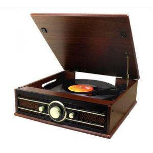 Soundmaster PL550BR - Platine vinyle