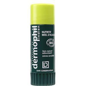 Laboratoire Dermophil Indien Nutritif miel d'acacia - Soin naturel adoucissant lèvres sensibles