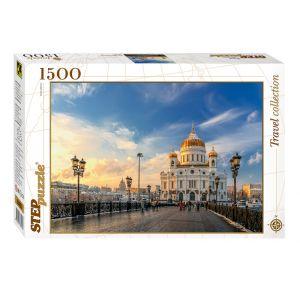 Step puzzle Cathédrale Du Christ-Sauveur de Moscou - Puzzle 1500 pièces
