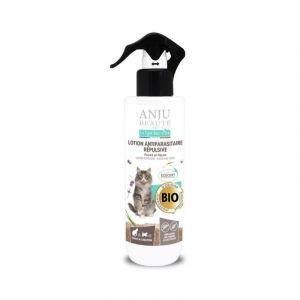 Anju Beauté Paris Lotion insectifuge pour chat 250 ml