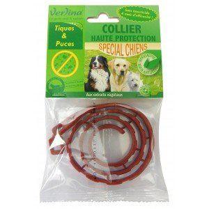 Verlina Collier haute protection contre les tiques et les puces spécial chiens