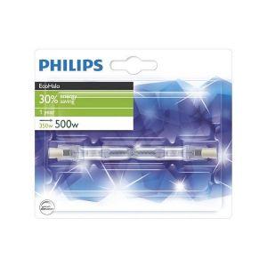 Philips Ampoule EcoHalogène 30 % crayon R7S - Puissance 400 W - 8600 Lumens - Compatible variateur