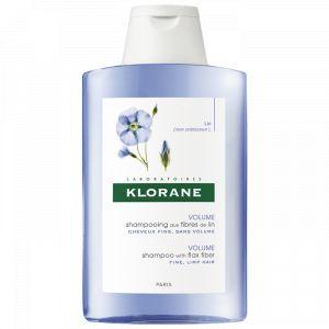 Klorane Shampooing aux fibres de lin - 200 ml
