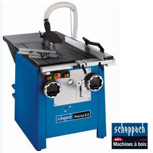Scheppach Kity 1901304903 - Scie circulaire Precisa 6.0 de précision avec inciseur Ø 315 mm 3000W