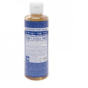 Dr Bronner's Savon liquide Peppermint Castille