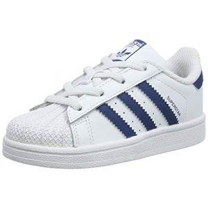 Adidas Baskets basses enfant SUPERSTAR EL blanc - Taille 19,20,21,22,23,24,26,27
