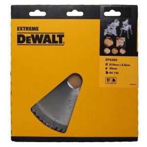 Dewalt DT4370 Lame pour scie à onglet stationnaire extrême