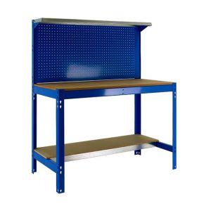 Simon Rack Etabli garage métal avec panneau outils (H)1440x(L)1200x(l)750mm