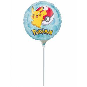 Ballon aluminium sur tige Pokemon 23 cm