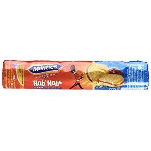 Mc vitie's Biscuits fourrés au chocolat,authentique recette anglaise aux flocons d'avoines dorés au four