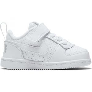Nike Court Borough Low (TDV) Garçon, Blanc Cassé (Whitewhite 100), 19.5 EU