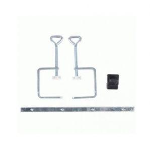 Scheppach Ensemble d'accessoires Kity 550: 2 presseurs + 1 liaison + 1 butée KITY 3901802702