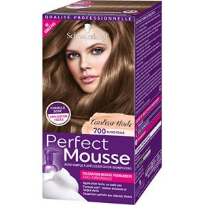 Schwarzkopf Perfect Mousse - Coloration Permanente - Blond Foncé 700