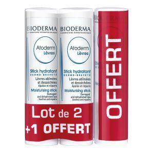 Bioderma Atoderm - Stick lèvres hydratant et apaisant