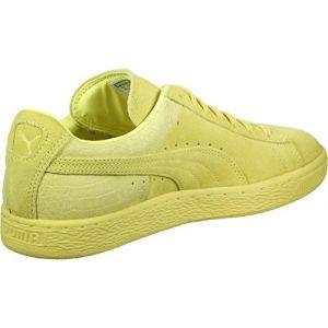 Puma Suede Classic Casual Emboss chaussures jaune néon 46 EU