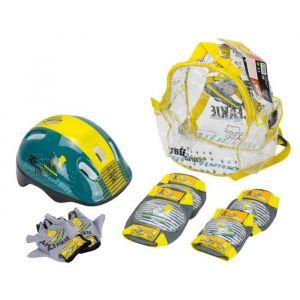 SIMPSONS Pack Set de Protections + Casque