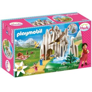 Playmobil 70254 - Heidi - Heidi, Peter et Clara au lac de cristal - 2020