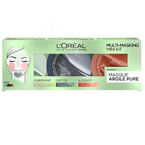 L'Oréal Coffret Multimasking Argile Pure - Masques mono-dose