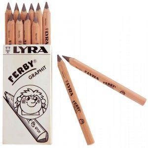 Lyra Crayon graphite ferby triangulaire 12cm - boite de 12