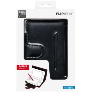 Bigben Coque de protection Flip&Play Interactive pour New 3DS XL + Stylet