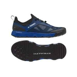 Adidas Terrex Climacool Voyager Aqua, Chaussures de Randonnée Basses Homme, Bleu (Blubea/Cblack/Greone Blubea/Cblack/Greone), 45 1/3 EU