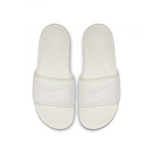 Nike Claquette Benassi JDI TXT SE pour Femme - Crème - Taille 36.5 - Female