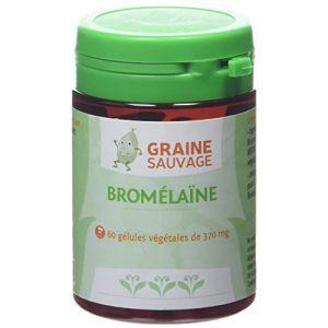 Graine sauvage Bromélaïne Pilulier de 60 Gélules