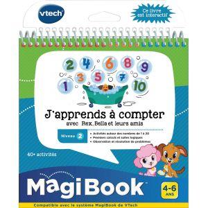 Vtech Magibook - J'apprends à compter avec Rex, Bella et leurs amis