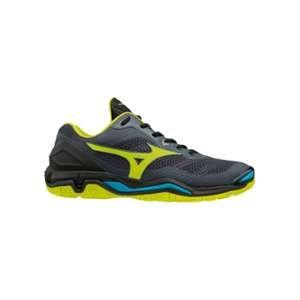 Mizuno Chaussures Handball Wave Stealth 5 Homme Noir/Jaune/Bleu