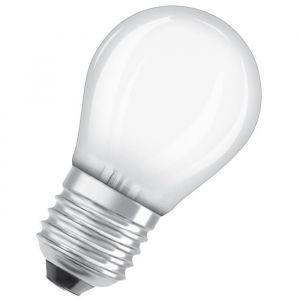Osram Ampoule LED E27 sphérique dépolie 2,8 W équivalent a 25 W blanc chaud