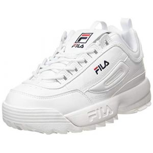 FILA WMN Disruptor Low 1010746-1fg, Sneakers Basses Femme, Blanc