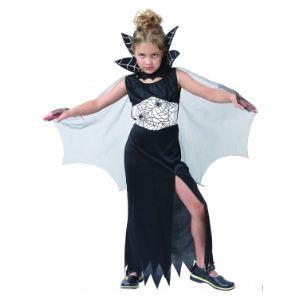 Déguisement sorcière araignée avec cape (taille au choix)