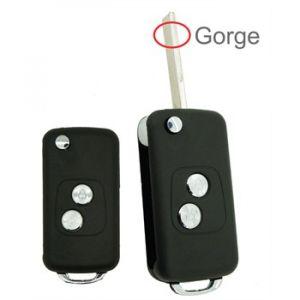 Neoriv Coque de clé télécommande PSA210