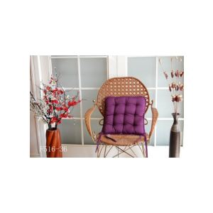 Galette de chaise matelassée déhoussable (40 x 40 cm)