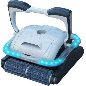 Bestway Robot nettoyeur de piscine à leds Presto