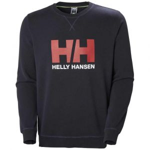 Helly Hansen Sweatshirts Logo Crew Sweat - Navy - M