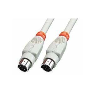 Lindy 31539 - Câble mini-Din 8 m/m 5 m.