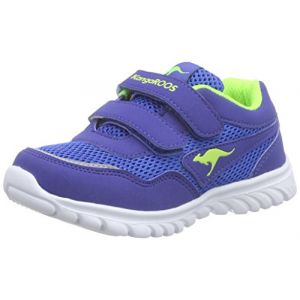 KangaROOS Inlite 3003B, Mixte Enfant, Bleu (Royal Blue/Lime), 23 EU