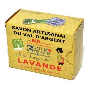 Argasol Savon bio Lavande 140g