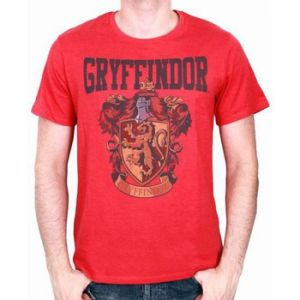Cotton Division T-Shirt Harry Potter Gryffondor (Taille XL)