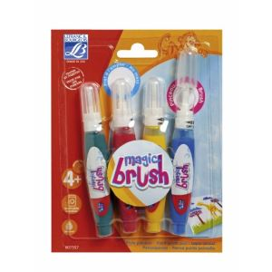 Lefranc & bourgeois Stylos pinceaux Magic Brush (x4)